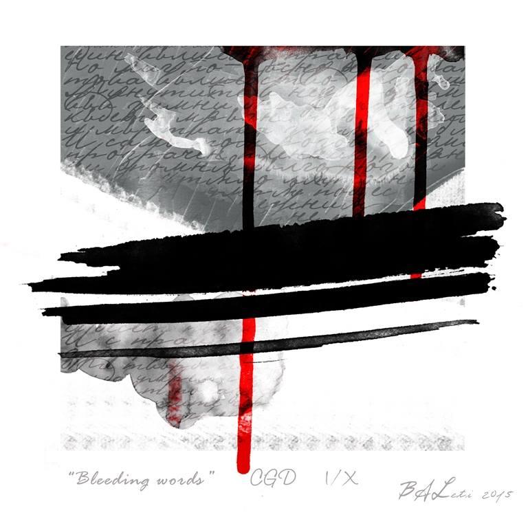 VIOLETA APOSTOLOVA -bleeding words